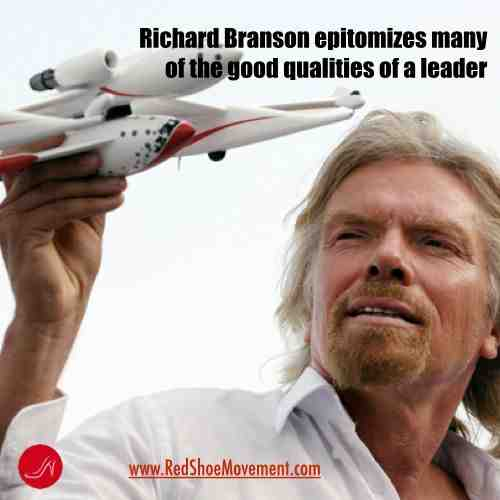 Richard Branson, one of the top inspirational leaders | Leadership training