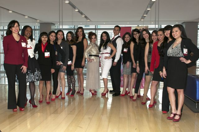 The RSM Signature Event launched at the New York Times. The senior Ambassadors convened a total of 24 other volunteer Millennials for the event.