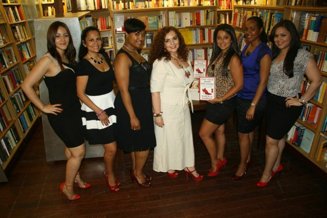 Book Presentation at McNally Jackson boostore: Find Your Inner Red Shoes, by Mariela Dabbah | Find Your Inner Red Shoes book presentation