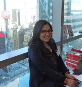Annerys Rodriguez, current RSM Head of Ambassadors, works full time in Diversity and Inclusion at MetLife