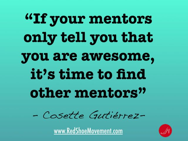Cosette Gutierrez Quote on Mentors