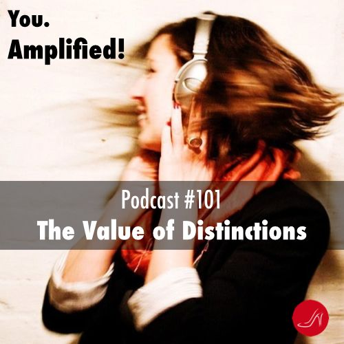 Podcast #101- The value of distinctions