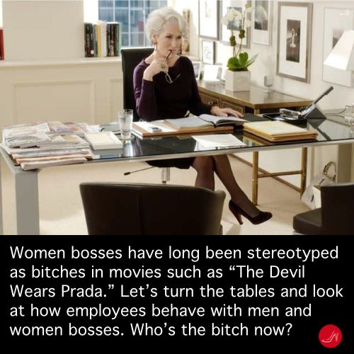 The Devil Wears Prada, women bosses quote