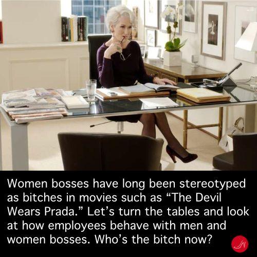 The Devil Wears Prada, women bosses quote