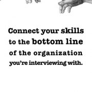 Connect your skills to the bottom line