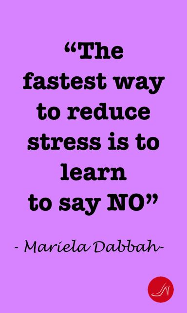 The fastest way to reduce stress is to say NO | Discover the 10 ways to say no without saying no