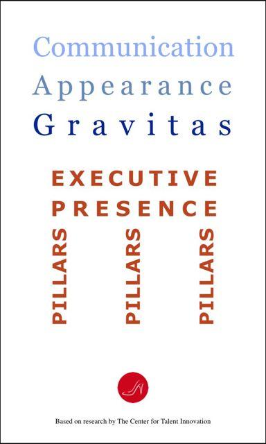 Executive Presence pillars