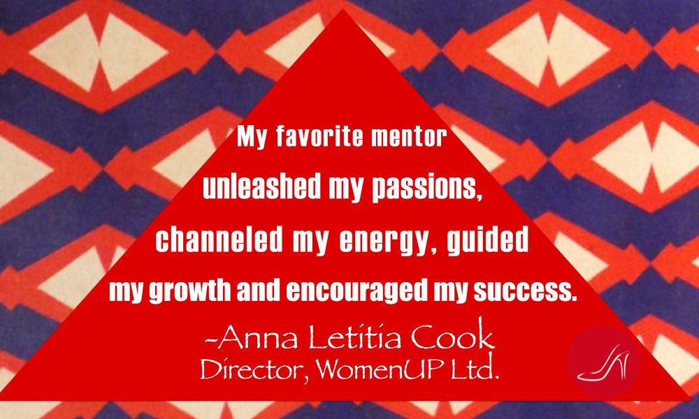 Inspirational mentoring quotes by Anna Letitia Cook
