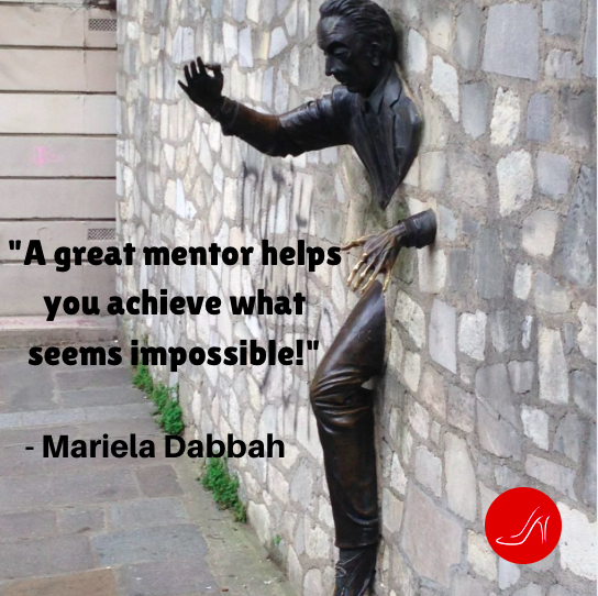 Mentoring quote by Mariela Dabbah