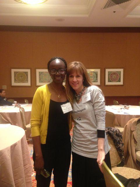 Heather Logghe (right) of #ILookLikeASurgeon