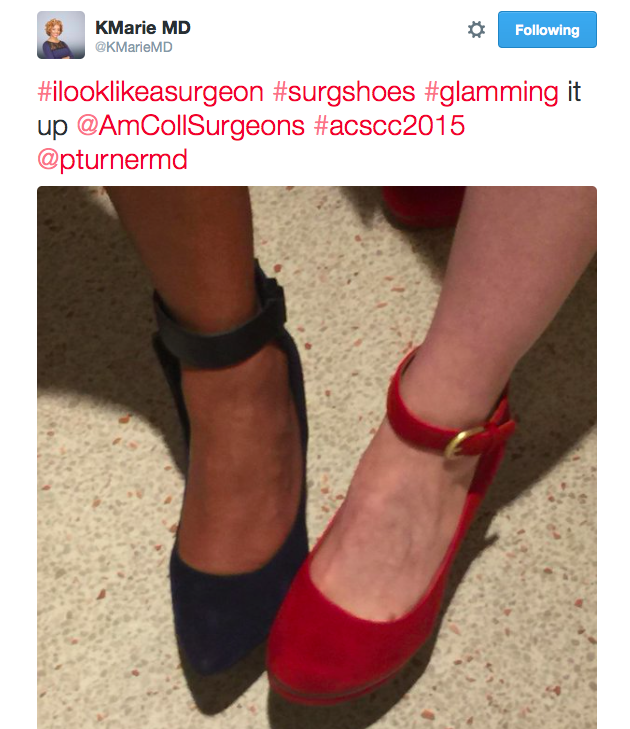 A powerful statement by Dr. KMarie, a GI Surgeon