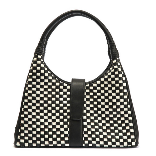 Lola Ramona Purse vintage in black and white works well with a business casual dress code
