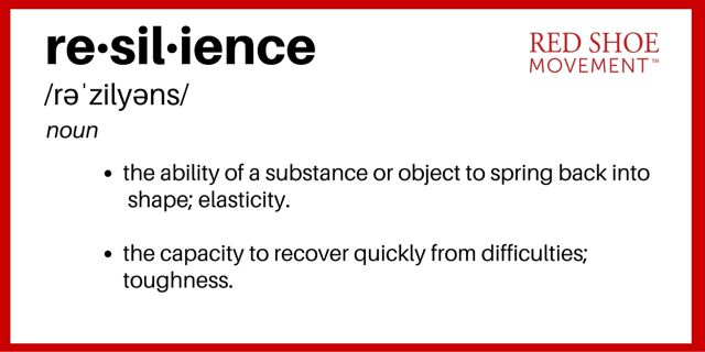 What is resilience? The ability to overcome adversities. Prepare for eventualities and learn to improvise.