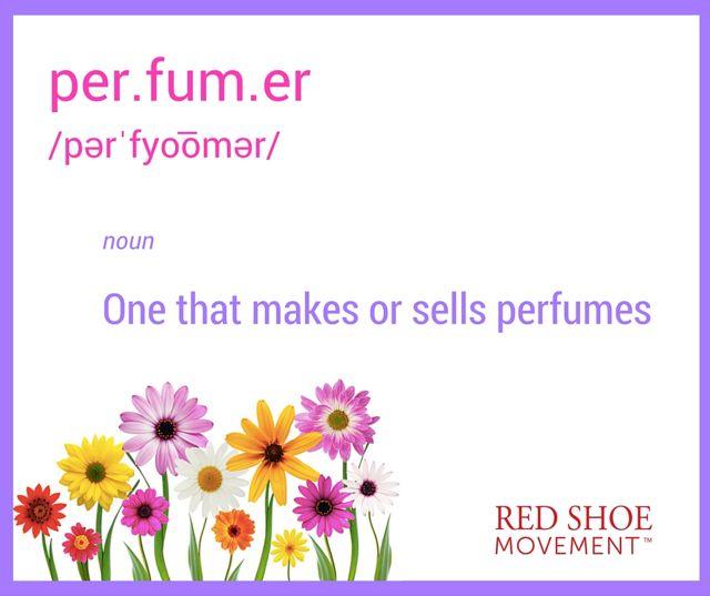 Definition of perfumer