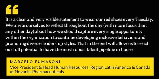 Marcelo Fumasoni, one of the biggest supporters of diversity and inclusion we've ever met!