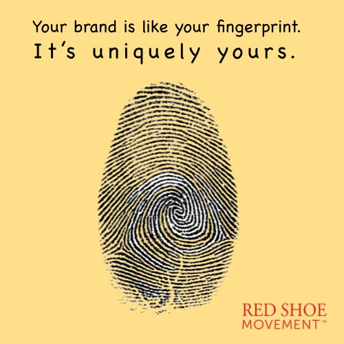 Figure out what makes you unique and sharpen your personal brand. You bring it everywhere with you whether you want it or not.