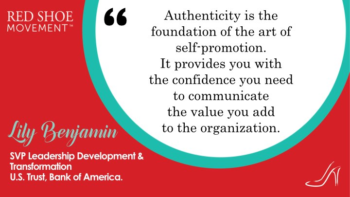 For your personal brand to have a positive impact it must be authentic. That provides the foundation to talk about your value.
