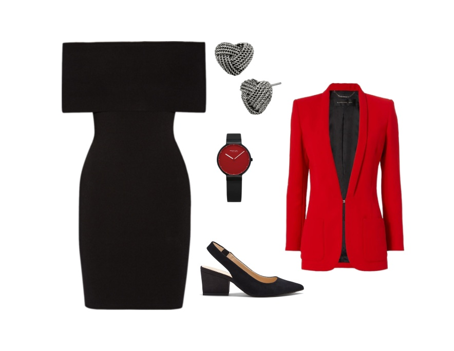 Who said dresses for work don't leave room for you to be fashionable? Photo: polyvore.com/pilitapia