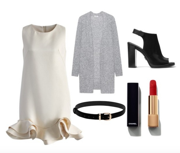 Consider dresses for work that can be used for the after hours cocktail party. Photo: polyvore.com/pilitapia