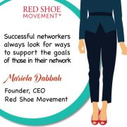 Successful networkers always find ways to support the people in their networks!