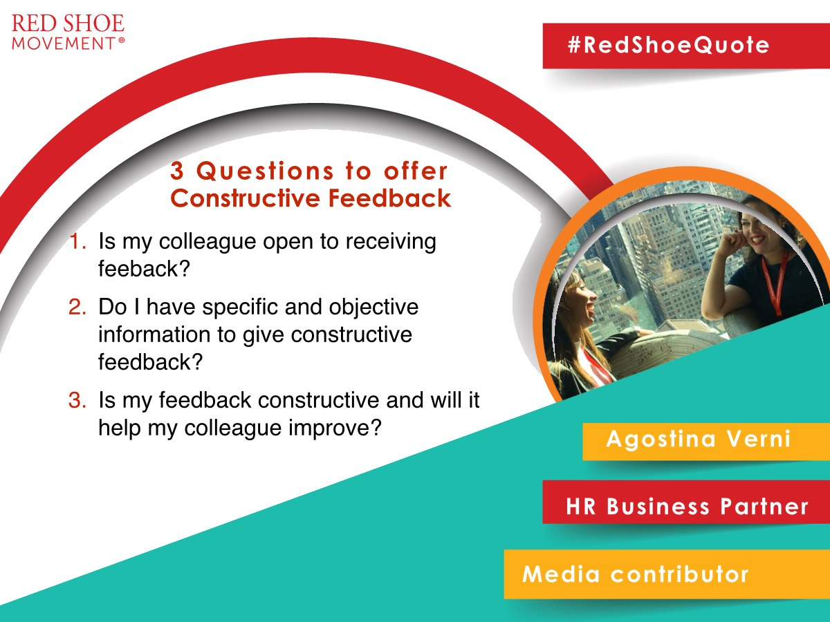 Three questions help you provide constructive feedback effectively