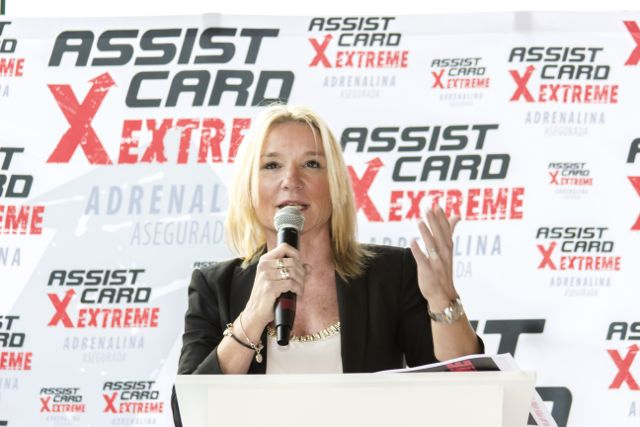 Alexia Keglevich speaking at X Extreme. Always speaking up for equality and inclusion.