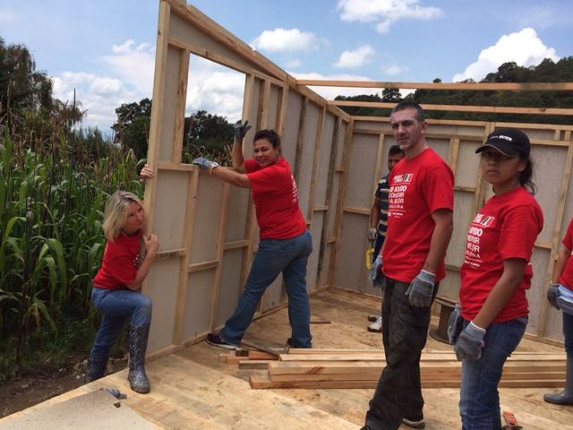 Alexia Keglevich partners with TECHO organization to build homes for the less fortunate