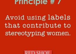 Red Shoe Movement Principle 7