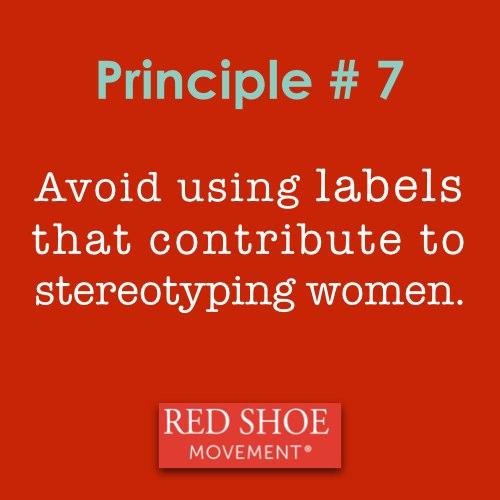 Red Shoe Movement Principle 7