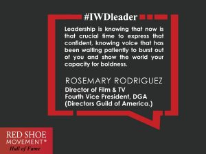 Rosemary Rodriguez, RSM Hall of Fame Honoree inspirational quote