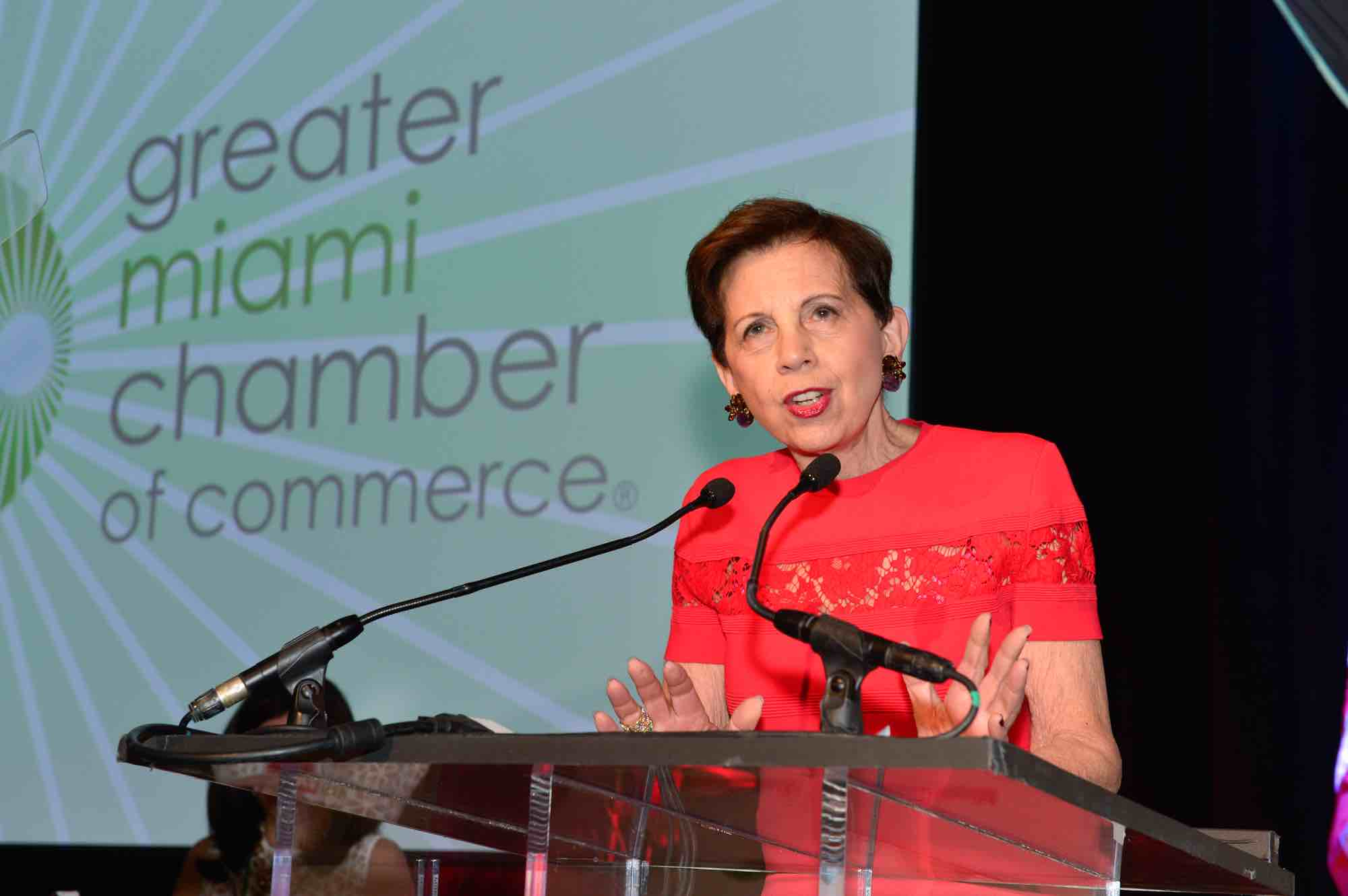 Powerful women like Adrienne Arsht use their influence in local and national issues