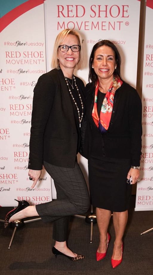 Left: Susan Podlogar, EVP, and Chief Human Resources Officer. Right: Elizabeth Nieto, Global Chief Diversity and Inclusion Officer