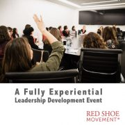 Leadership development event with experiential approach