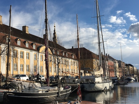 Tip for women traveling alone: nothing beats walking a town or city to get to know it really well. This is Nyhavn in Copenhagen