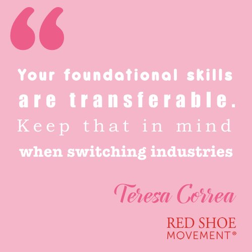 Switching industries inspirational quote