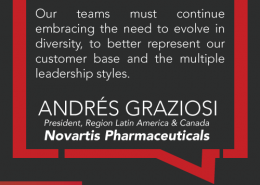 Andres Graziosi, always moving the needle on inclusion