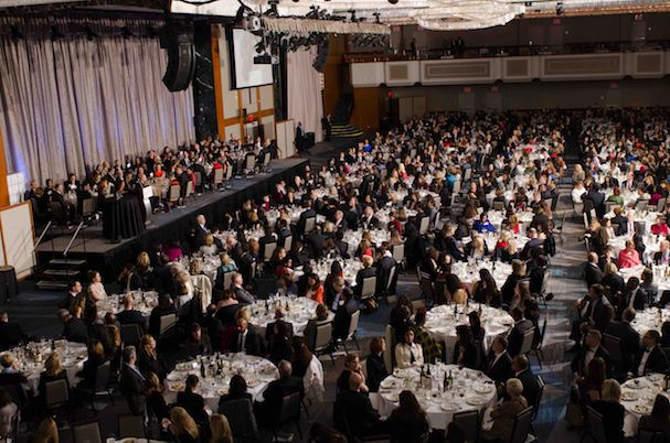 Catalyst Awards dinner, an annual gathering of the most influential leaders and organizations