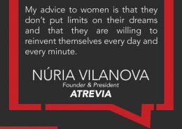 Nuria Vilanova Inspirational Quote