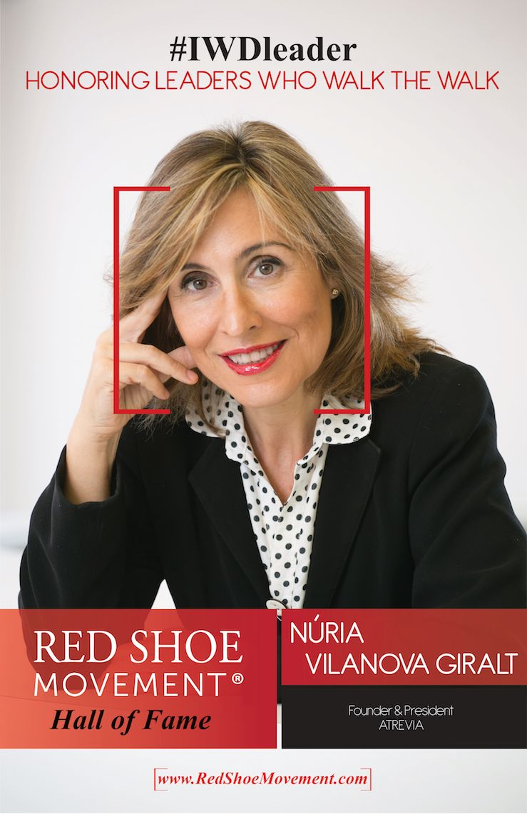 Nuria Vilanova Giralt Hall of Fame 2018
