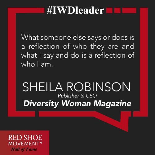 Sheila Robinson inspires us with her wisdom