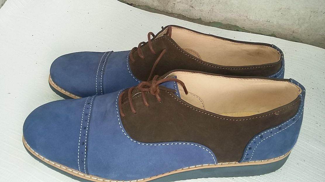 Shoemaking in Nigeria by a female entrepreneur