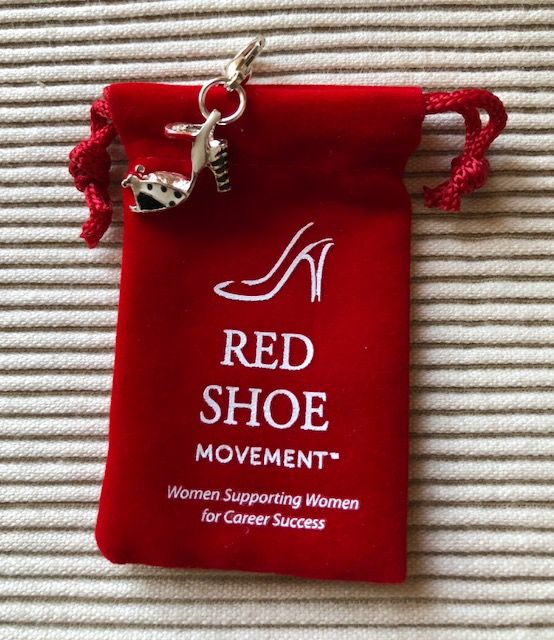 As a shoe entrepreneur, Gitte Sandquist finds supporting other women is critical. We created this charm to honor our partnership.