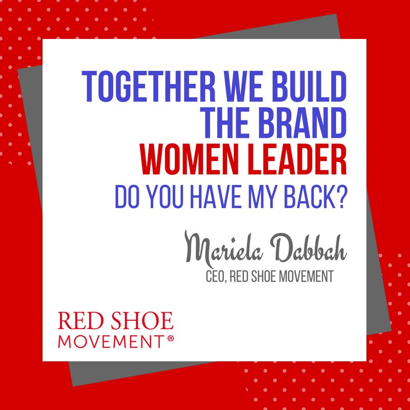 "Together we build the brand ""women leaders"""