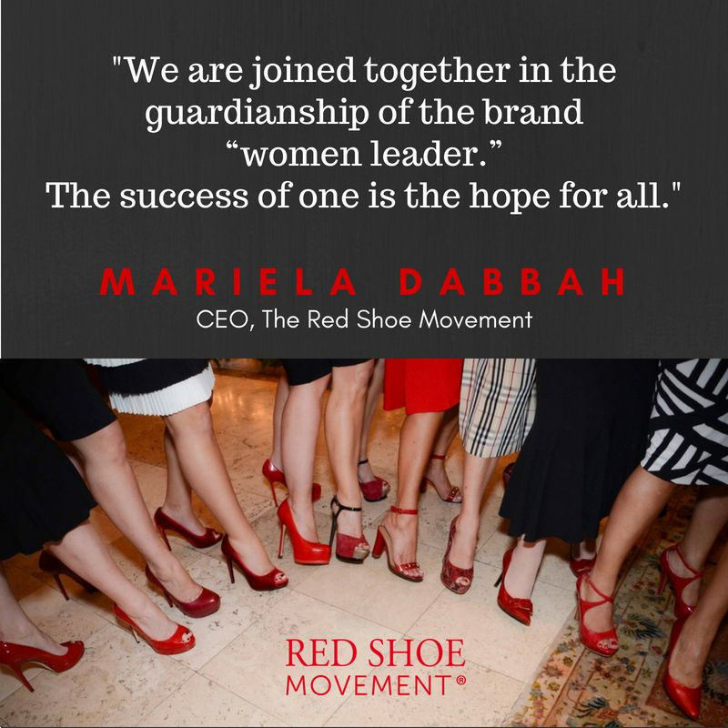 Women leaders are joined together to protect brand