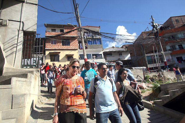 Dr. Beth Fisher-Yoshida does intensive work in Colombia