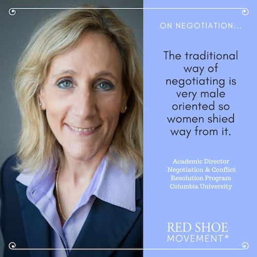 Negotiation advice and insights for women from one of the leaders in the space.
