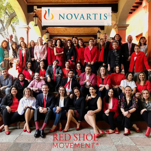 At a recent Red Shoe Movement event for Novartis Mexico, where the company engaged its entire ecosystem.
