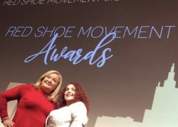 Cynthia Hudson, SVP, GM CNNE and Mariela Dabbah, CEO Red Shoe Movement