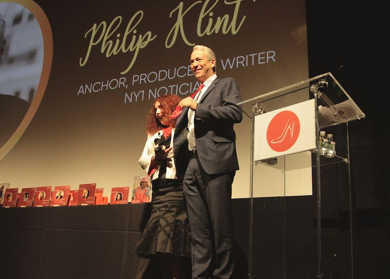 Philip Klint, anchor NY1 Noticias, debuts the RSM Signature Tie
