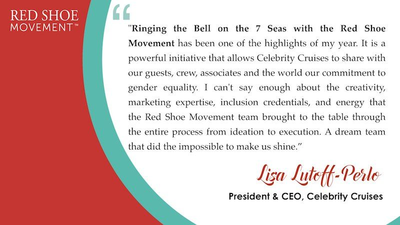 Lisa Lutof Perlo quote about Ring the Bell